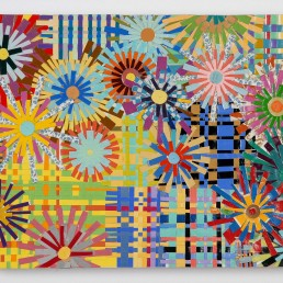 Patchwork - 2008 | Found paper on acrylic on wood | 16 x 20 in