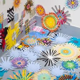 Floating Weavings - 2019 | Detail 2 | CAM Studio Gallery