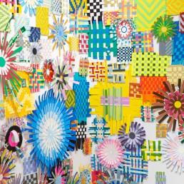 Floating Weavings - 2019 | Detail | CAM Studio Gallery, Oxnard